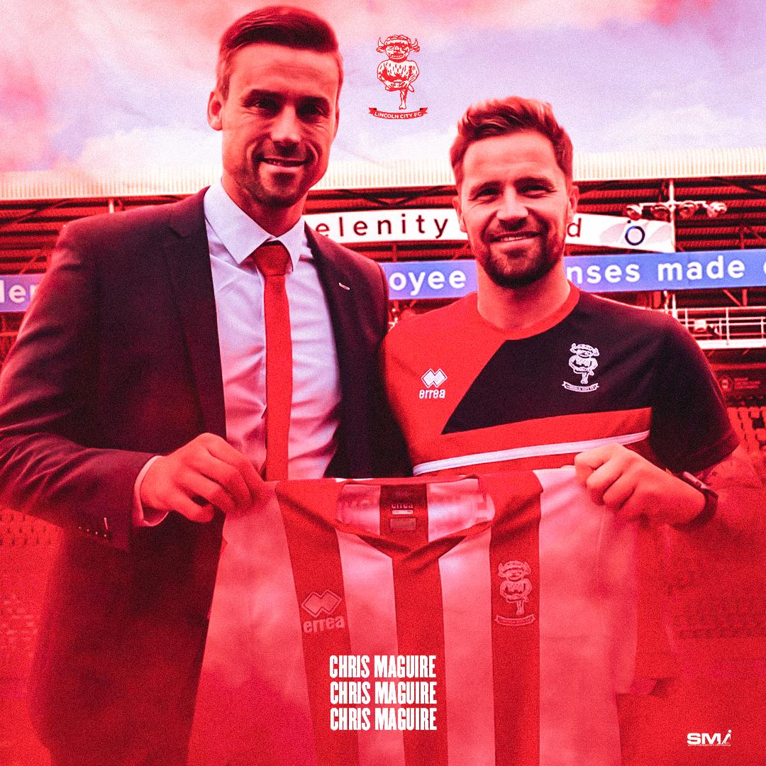 Chris Maguire moves to Lincoln City
