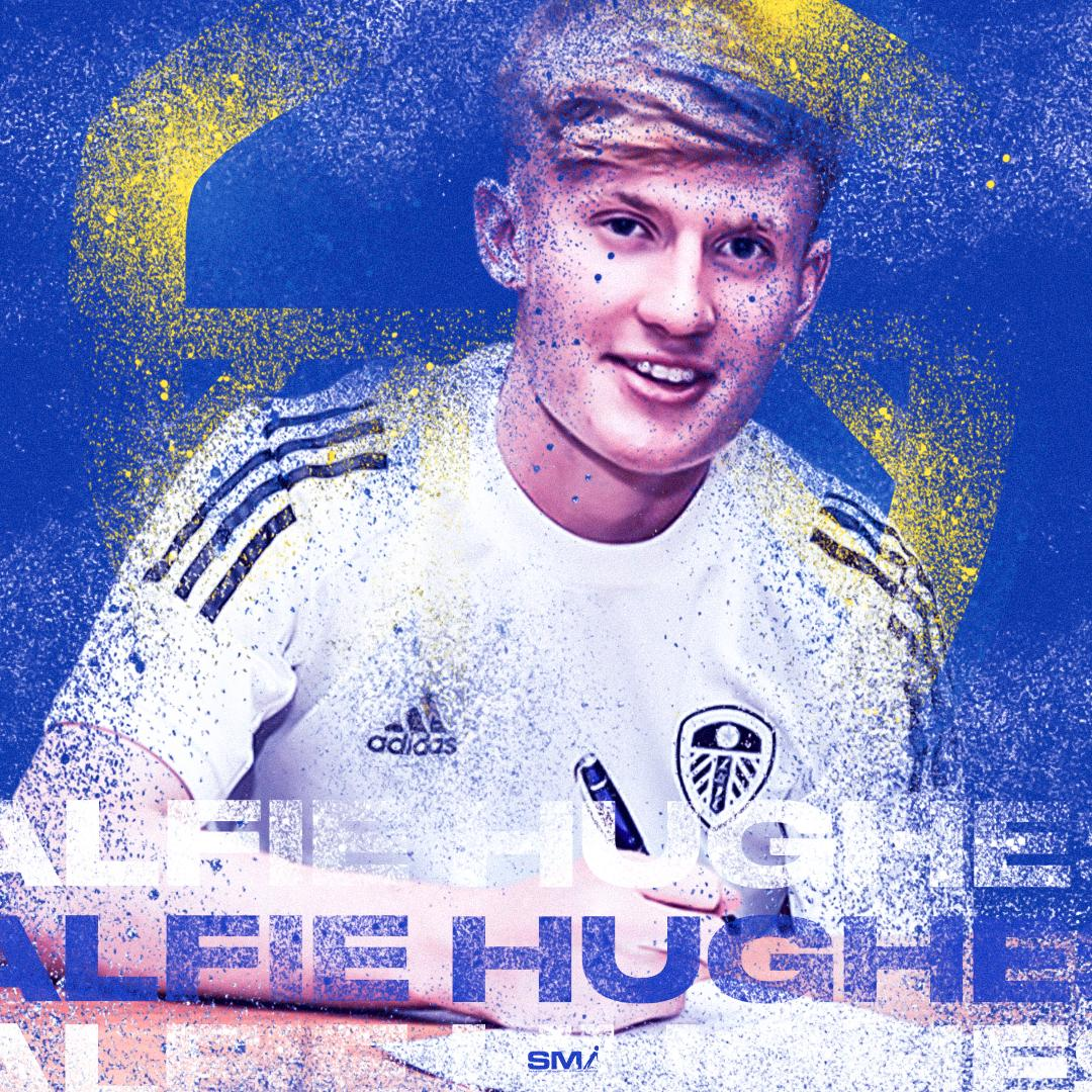 Alfie Hughes signs 1st professional contract