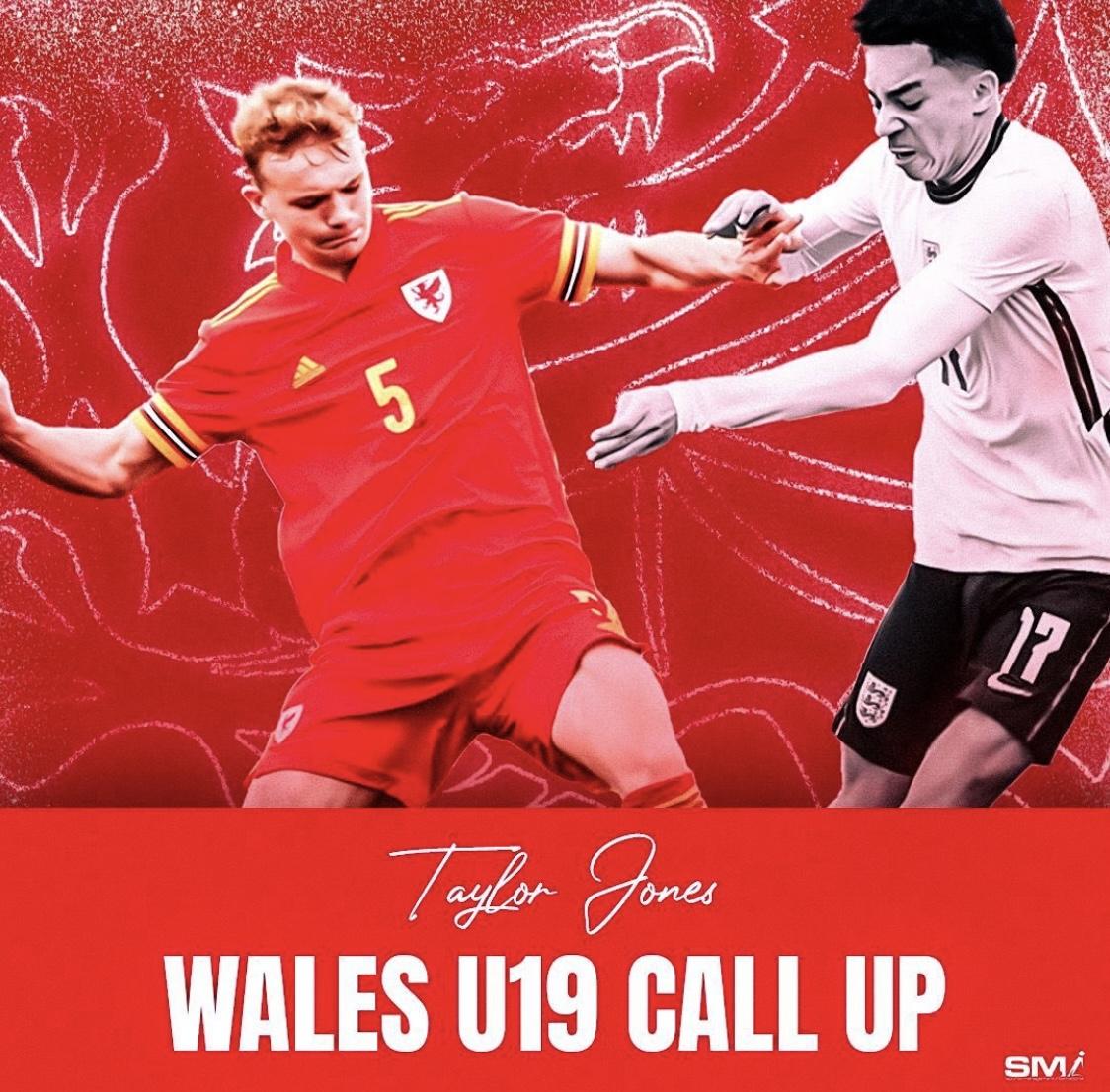 Taylor Jones Wales call up