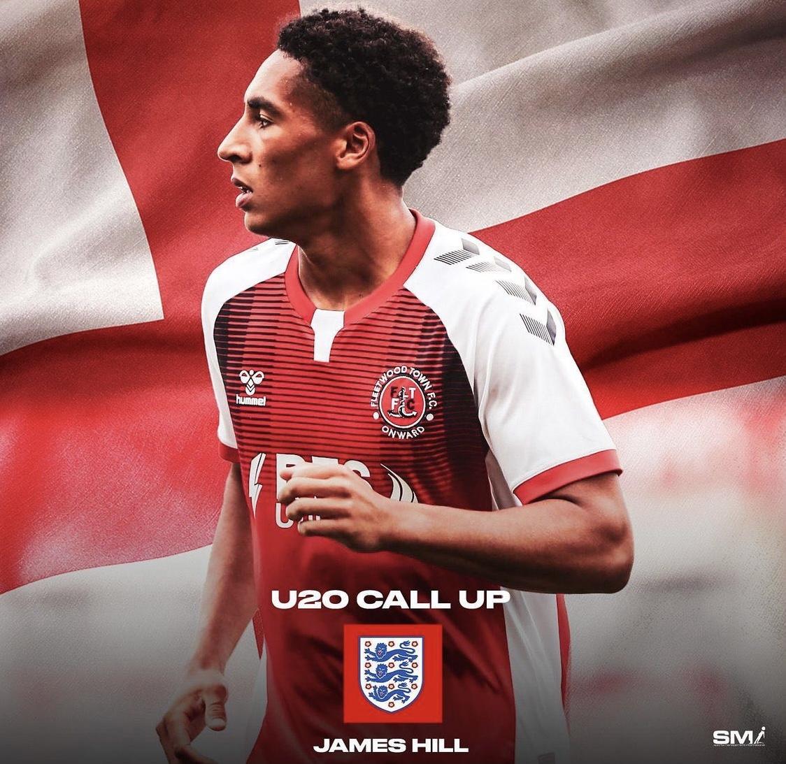 James Hill ENGLAND call up